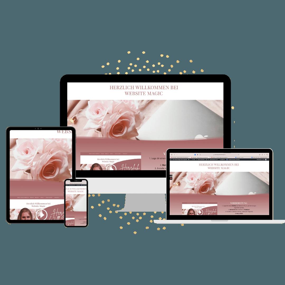 Website Magic Online Kurs