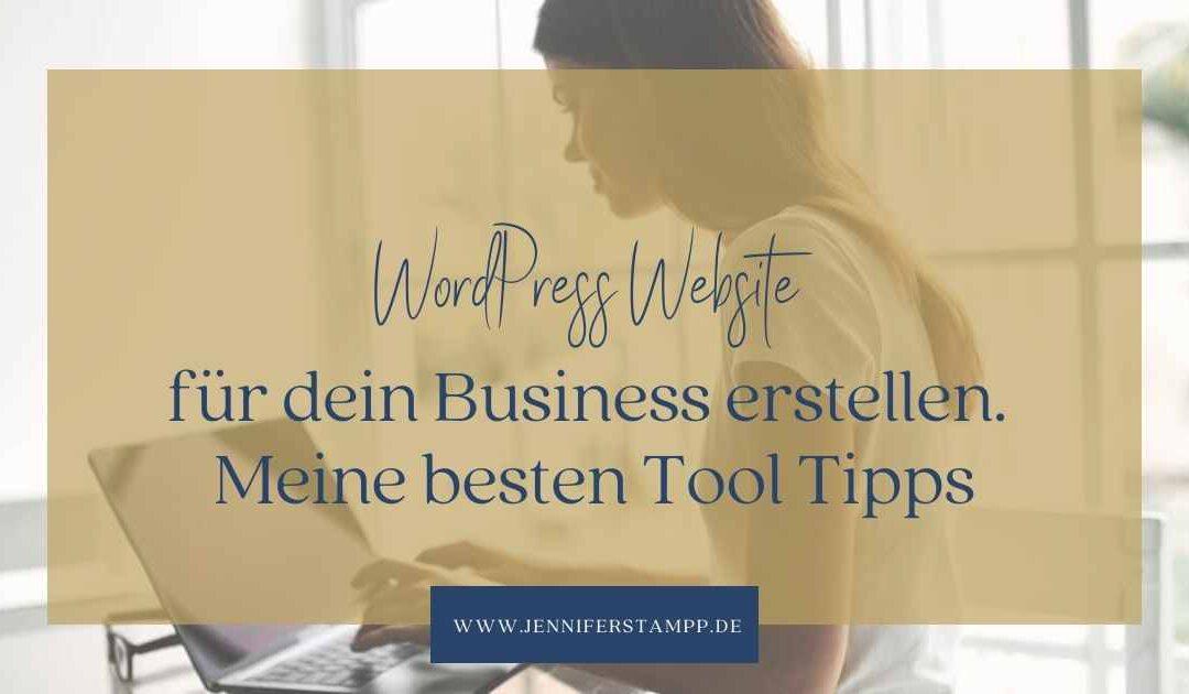 Wordpress Websitee erstellen . die besten Tool Tipps
